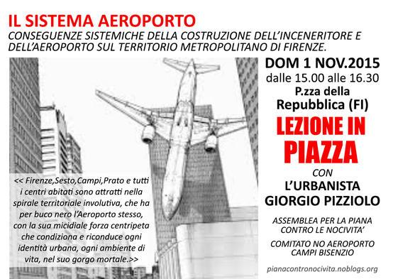 Lezione di piazza Giorgio Pizziolo