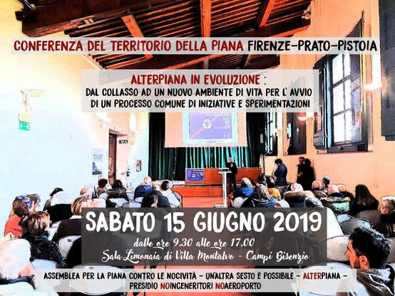 Conferenza del Territorio della Piana Firenze Prato Pistoia